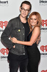 Ashley Tisdale & Chris French at IHeart Radio Fest