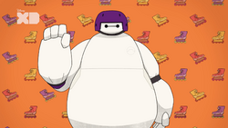 Baymax and Go Go
