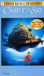 Castle in the Sky Italian VHS