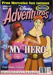 Disney Adventures Magazine Australia oct 1997 hercules terasa livingstone