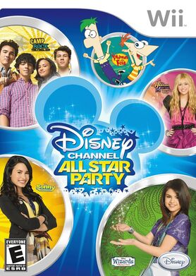 Disney Channel All Star Party Cover