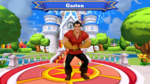 Gaston Disney Magic Kingdoms Welcome Screen