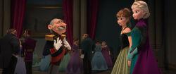 Herzog von Pitzbühl trifft Anna und Elsa