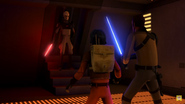 Kanan and Ezra VS Inquisitor
