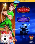 Peter Pan Germany 2-Movie Blu-Ray