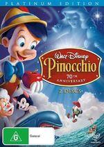 Pinocchio au dvd