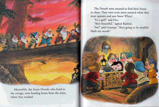 snow white picture story pdf