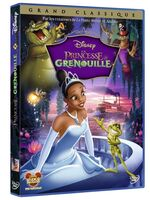 The Princess and the Frog DVD France