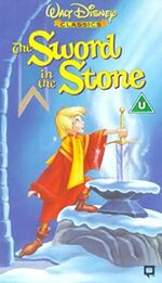 The Sword in the Stone UK VHS