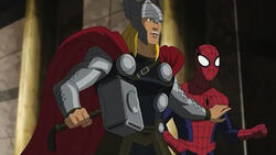 Thor in Ultimate Spider-man