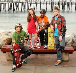 Zeke & Luther cast