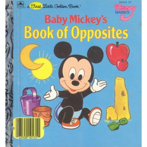 Exceptional Baby Mickeyu0027s Book Of Opposites