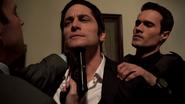 Agents of S.H.I.E.L.D. - 1x13 - T.R.A.C.K.S. - Ian Quinn Gunpoint