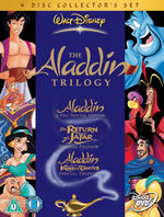 Aladdin 1-3 Box Set 2004 UK DVD