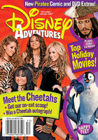 Disney Adventures Magazine cover December January 2007 Cheetah Girls