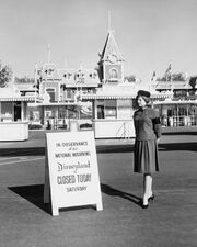 Disneyland 63 closure