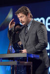 Nick Offerman speaks at Writers Guild Awards
