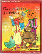 Oz, un mundo fantastico book cover