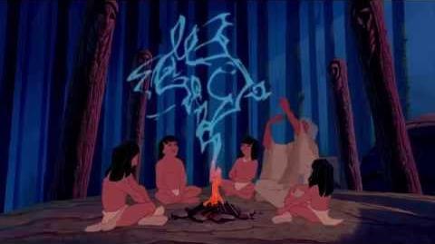 Pocahontas Rustig Ritme Van De Trom Disney NL
