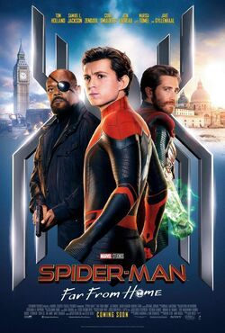 Spider-Man Far From Home official poster