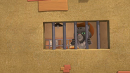 Wildcat McGraw behind bars