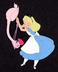 Alice Flamingo Croquet Production Cel