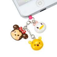 Daisy Minnie Pooh Tsum Tsum Keychain