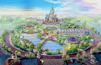 Gardens of Imagination Shanghai Disney