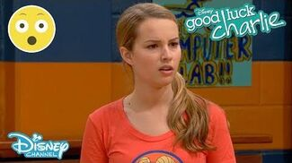 Good Luck Charlie Teddy's Whammy Tryout 😂 Disney Channel UK