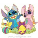 Happy Easter 2009 - Stitch and Angel