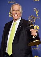 Henry Winkler at Emmys