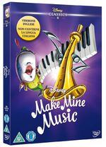 Make Mine Music Italy DVD English Dub