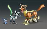 Robo-pets concept