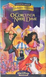 The Hunchback of Notre Dame Greatest Stories Brazil VHS
