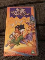 Disney The Hunchback of Notre Dame UK VHS (2000)
