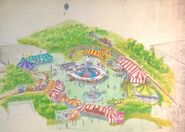 Dumbo's Circus Land Concept Art (9)