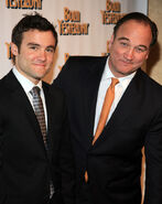 Jim Belushi and son Rob