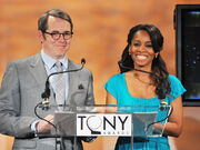 Matthew Broderick & Anika Noni Rose Tony Awards