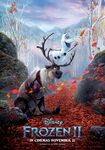 Olaf and Sven Frozen II Poster