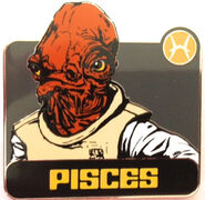 Star Wars - Zodiac Mystery Collection - Pisces Admiral Ackbar ONLY