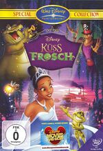The Princess and the Frog 2010 Germany DVD