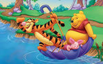 Cartoons winnie the pooh wallpaper-14
