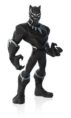 Disney INFINITY Black Panther Render