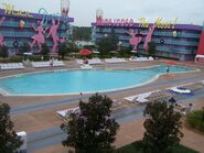 Disney Resort 50s pool
