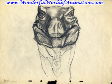 File:Drawing of T-rex face.jpg