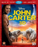 JohnCarter 3-D Bluray