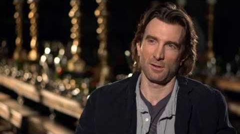"Maleficent Sharlto Copley ""Stefan"" On Set Movie Interview"