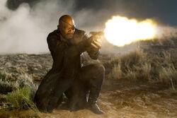 Nick Fury shooting