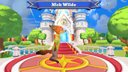 Nick Wilde Disney Magic Kingdoms Welcome Screen
