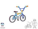 SVTFE Prop Concept - 80s Style BMX Bike